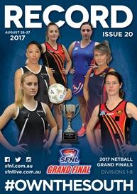 SFNL 2017 Rd 20 Cover