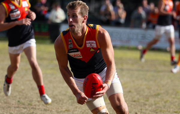 There are few swingmen in local footy as good as Andrew Frost.