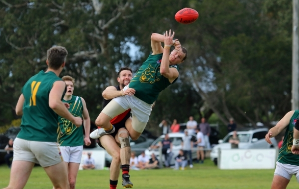 Four-time League B&F winner puts his body on the line for Mount Waverley week in, week out .