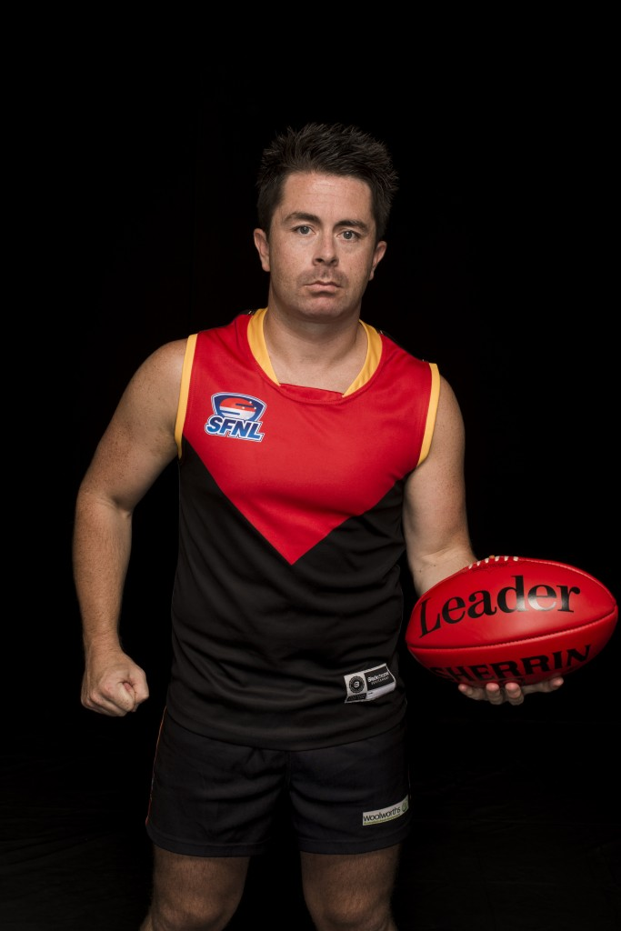 Inspirational Dingley captain Tony Lavars is honoured to lead the SFNL Interleague team.