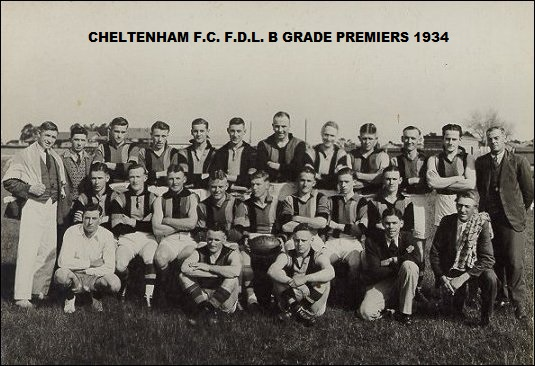 Cheltenham FC - 1934 premiers