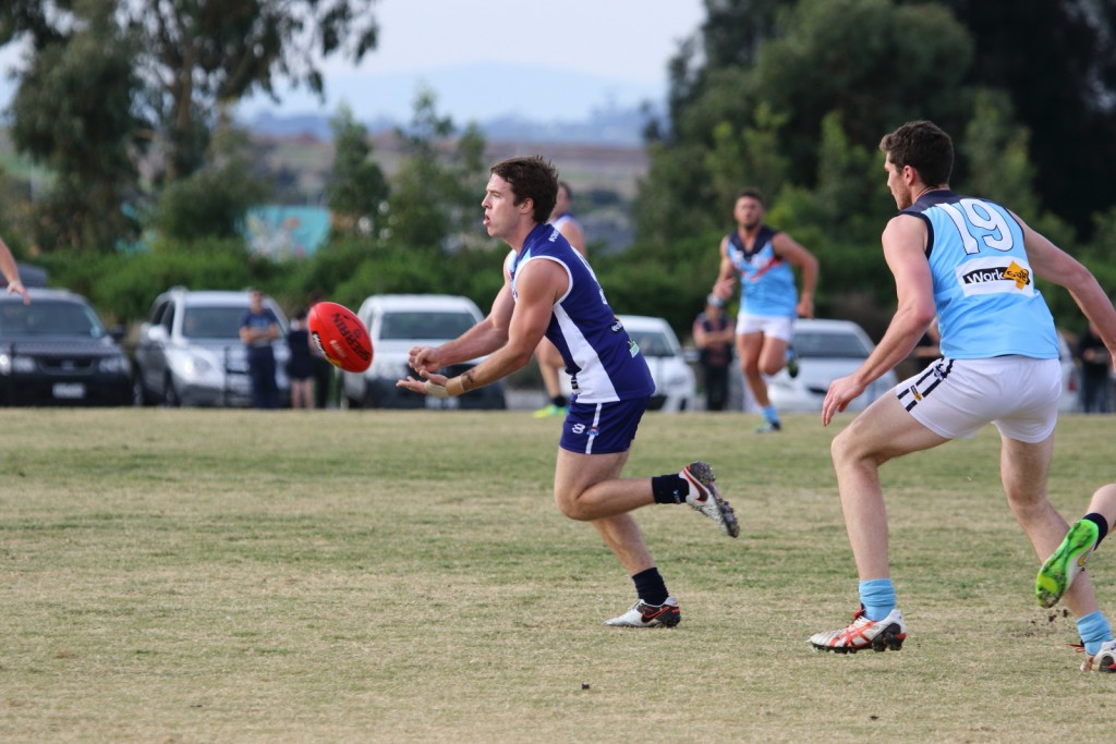 Chris Horton-Milne had the ball on a string in the interleague clash.