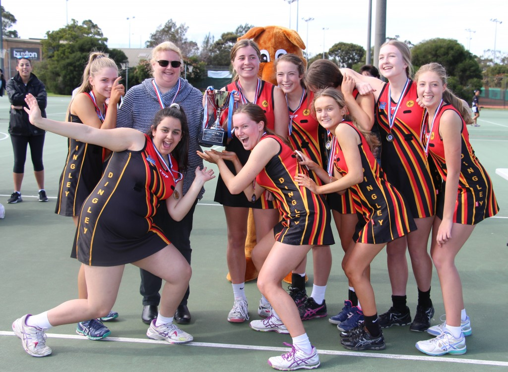 Under 19s Netball Premiers Dingley Two
