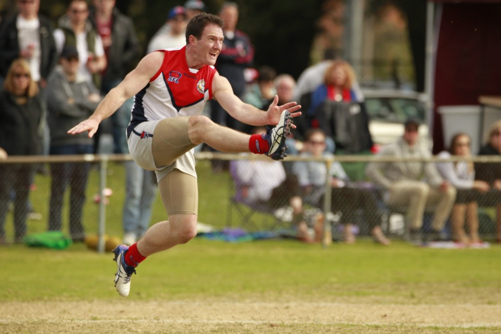 Scott Lawry was one of the few shining lights for Bentleigh. CREDIT: Everard Fenton, Memento Sports