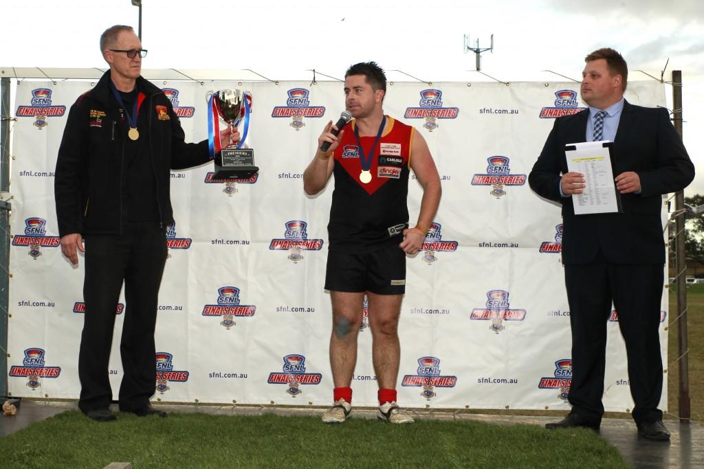 Tony Lavars retires a champion. CREDIT: Everard Fenton, Memento Sports