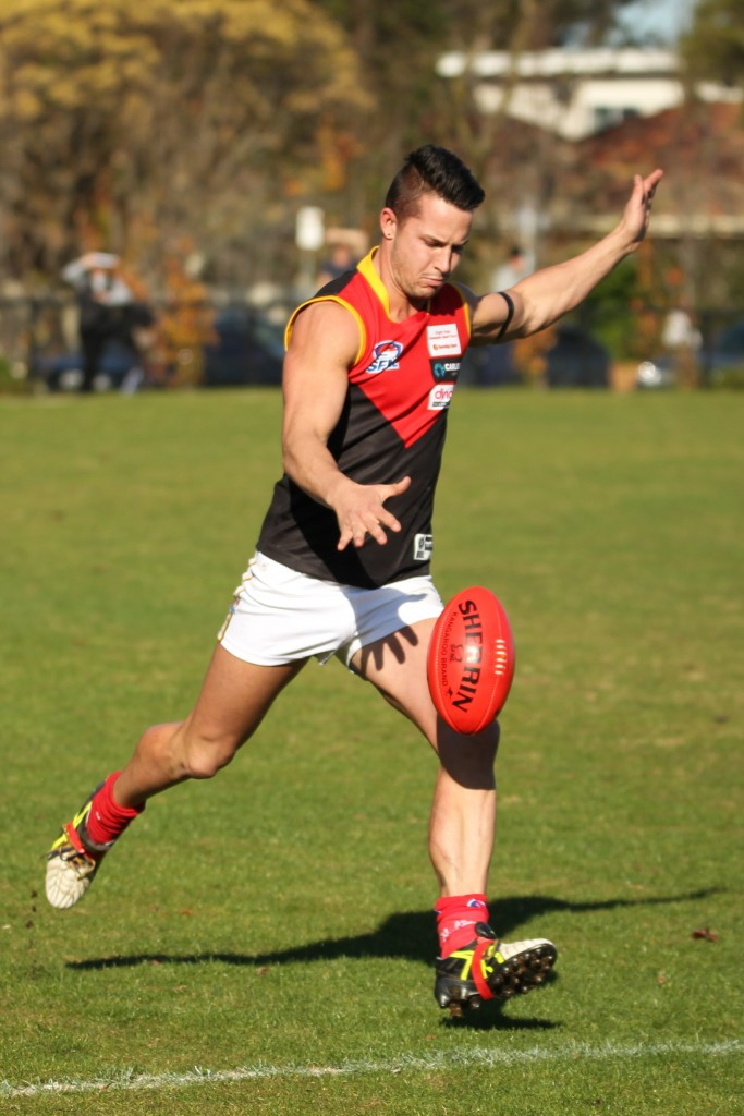 Spearhead Calhan 'the Dream' McQueen is a player the Demons will look to keep quite.
