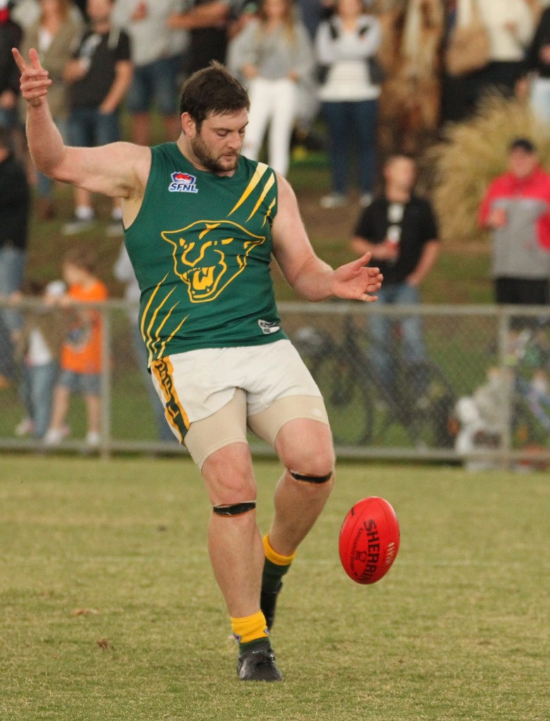 Mount Waverley spearhead James Gough is the man Ashwood needs to keep quiet.