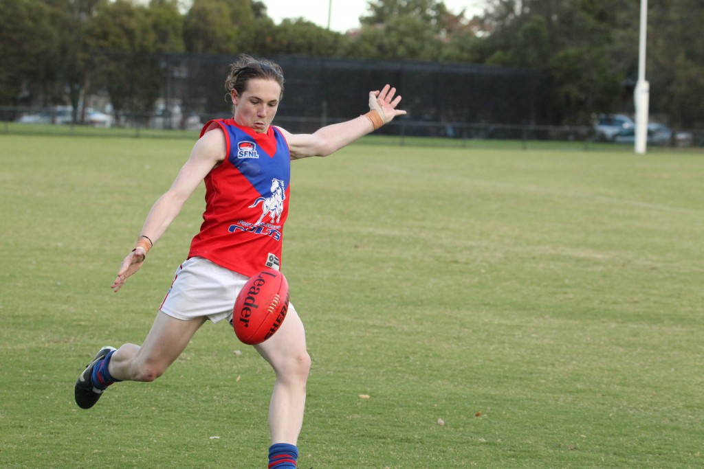 Young Colts livewire Mitch Clarke is a threat up forward.
