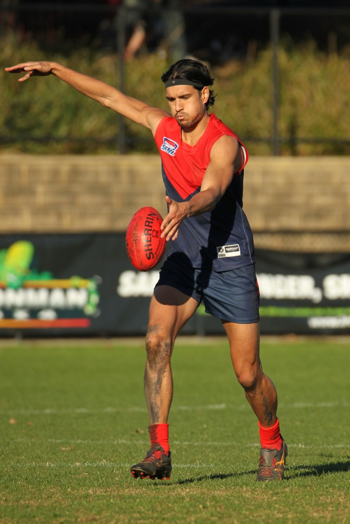 Spearhead Pat Nicholls has been a sensation addition to the Demons this year.