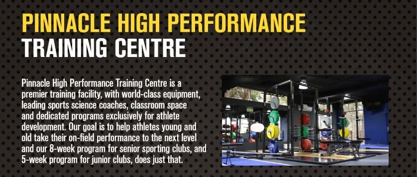 Pinnacle High Performance Centre