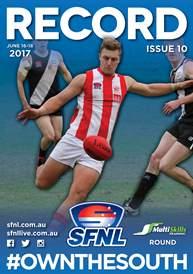 SFNL 2017 Rd 10 Cover