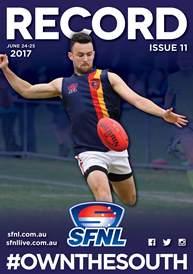 SFNL 2017 Rd 11 Cover