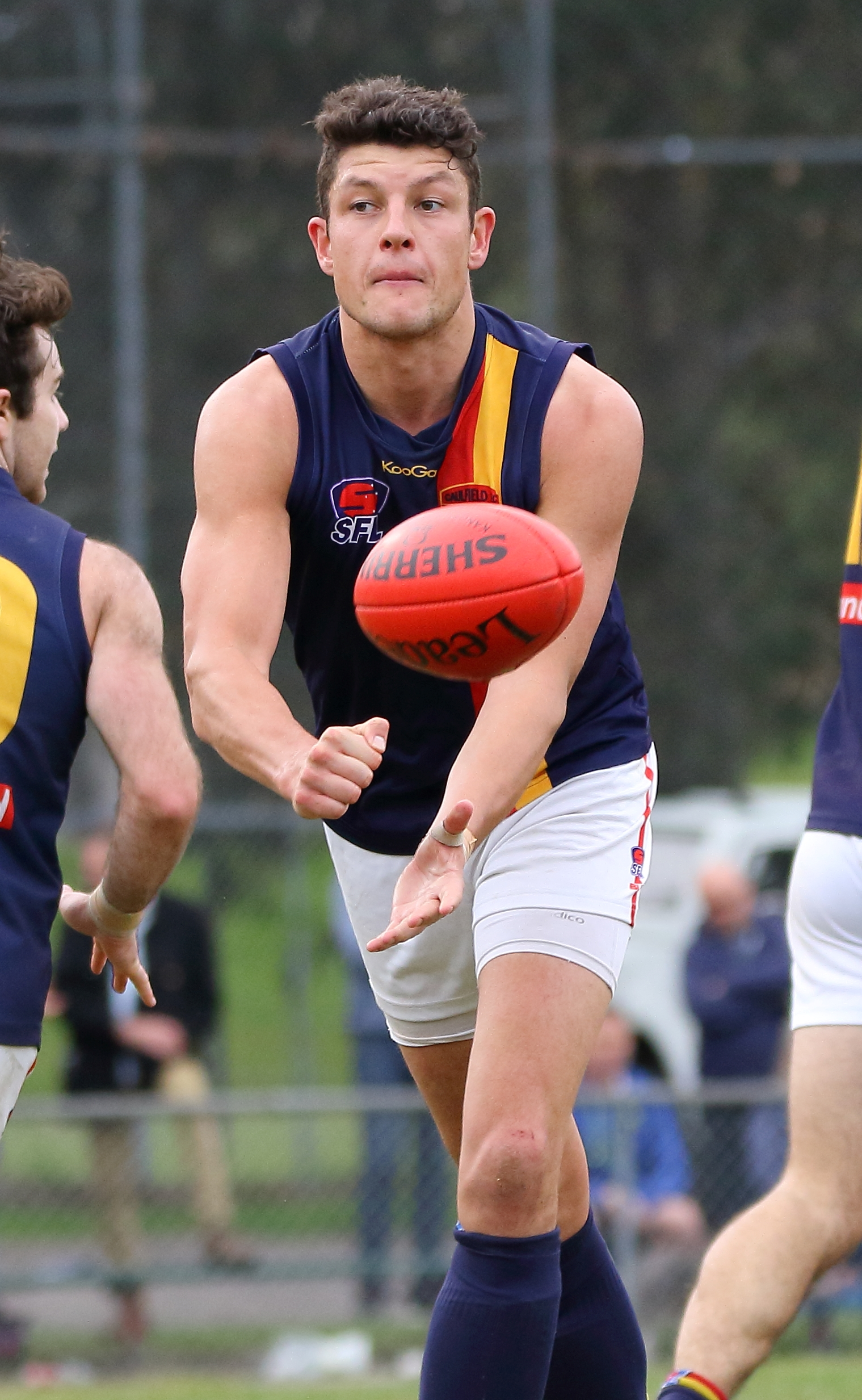Bears skipper Adam Ballard is one of the most influential ruckmen in the comp.
