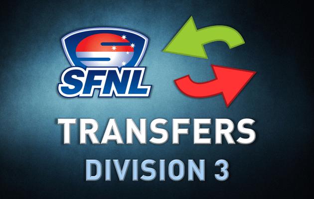 Transfers Div 3